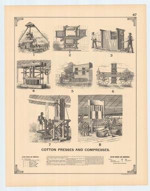 Primary view of object titled 'Cotton Presses and Compresses'.