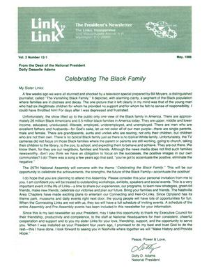 Primary view of object titled 'Link to Link: The President's Newsletter, Volume 2, Number 12-1, May 1986'.