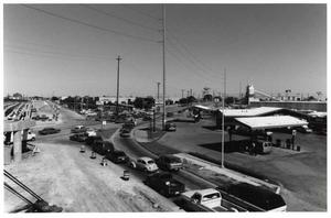 Primary view of object titled 'Arapaho Road at North Central Expressway 1988, Richardson, Texas'.