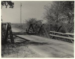 Primary view of object titled 'Arapaho Road at West Branch, Cottonwood Creek, Richardson, Texas'.
