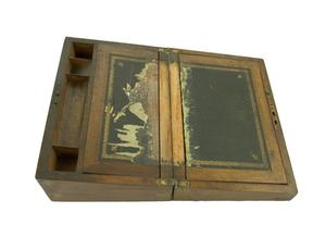 Primary view of object titled 'Portable desk'.