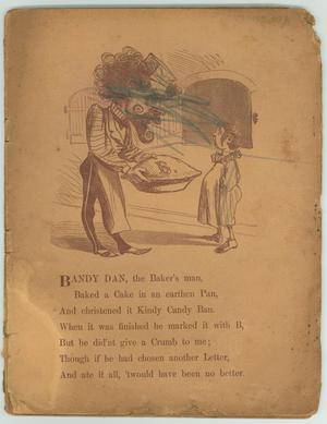 Primary view of object titled '[Pages of Nursery Rhymes]'.