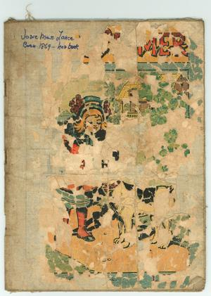 Primary view of object titled '[Cover of Child's Primer]'.