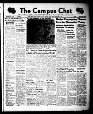 Primary view of object titled 'The Campus Chat (Denton, Tex.), Vol. 14, No. 20, Ed. 1 Friday, February 23, 1940'.