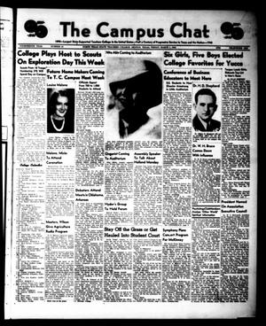 Primary view of object titled 'The Campus Chat (Denton, Tex.), Vol. 14, No. 21, Ed. 1 Friday, March 1, 1940'.