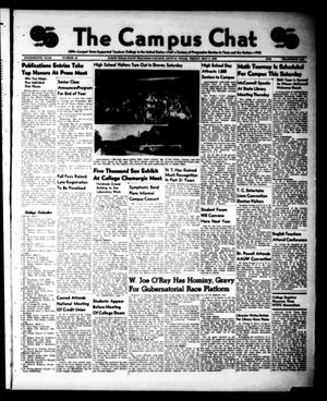 Primary view of object titled 'The Campus Chat (Denton, Tex.), Vol. 14, No. 29, Ed. 1 Friday, May 3, 1940'.