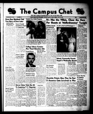 Primary view of object titled 'The Campus Chat (Denton, Tex.), Vol. 14, No. 36, Ed. 1 Friday, July 12, 1940'.