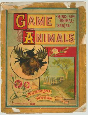 Primary view of object titled 'Game Animals'.