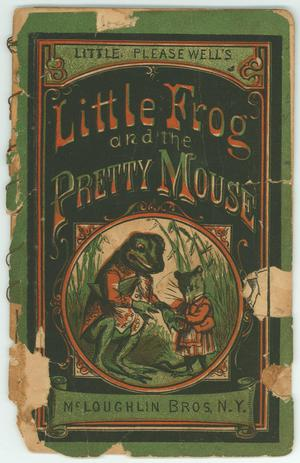 Primary view of object titled 'Little Frog and Pretty Mouse'.