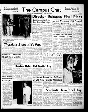 The Campus Chat (Denton, Tex.), Vol. 39, No. 67, Ed. 1 Friday, August 17, 1956