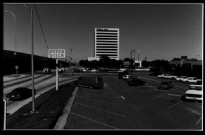 Main Street (Belt Line Rd) and Central Expressway (US Hwy 75) Intersection, 1988, Richardson, Texas