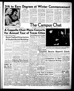 Primary view of object titled 'The Campus Chat (Denton, Tex.), Vol. 43, No. 28, Ed. 1 Wednesday, January 13, 1960'.