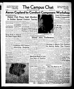 Primary view of object titled 'The Campus Chat (Denton, Tex.), Vol. 43, No. 25, Ed. 1 Thursday, February 18, 1960'.