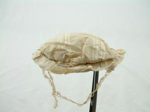 Primary view of object titled 'Child's cap'.