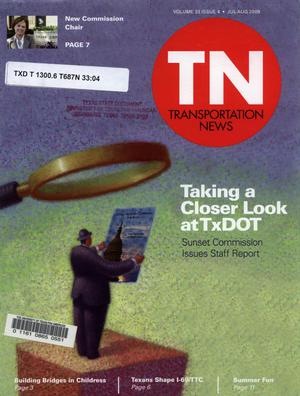 Primary view of object titled 'Transportation News, Volume 33, Number 4, July - August 2008'.