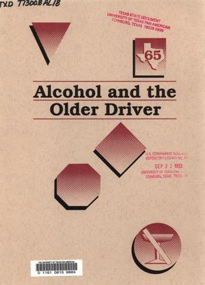 Primary view of object titled 'Alcohol and the Older Driver'.