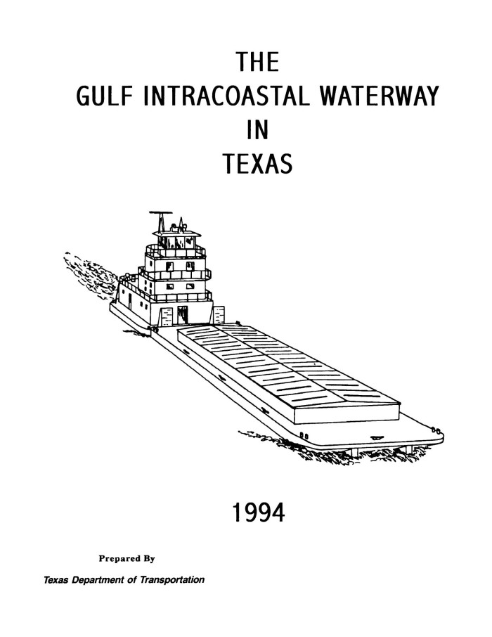 The Gulf Intracoastal Waterway in Texas, 1994 - The Portal