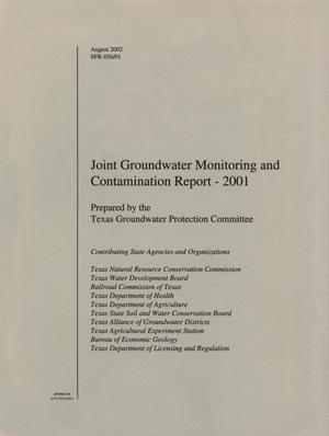 Primary view of Joint Groundwater Monitoring and Contamination Report: 2001