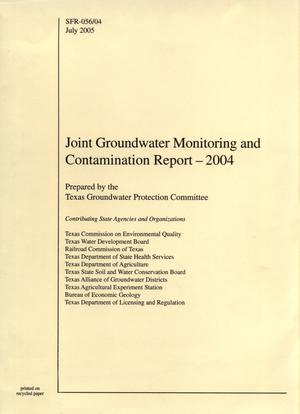Joint Groundwater Monitoring and Contamination Report, 2004