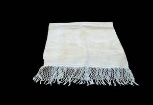 Primary view of object titled 'Homespun dish towel'.