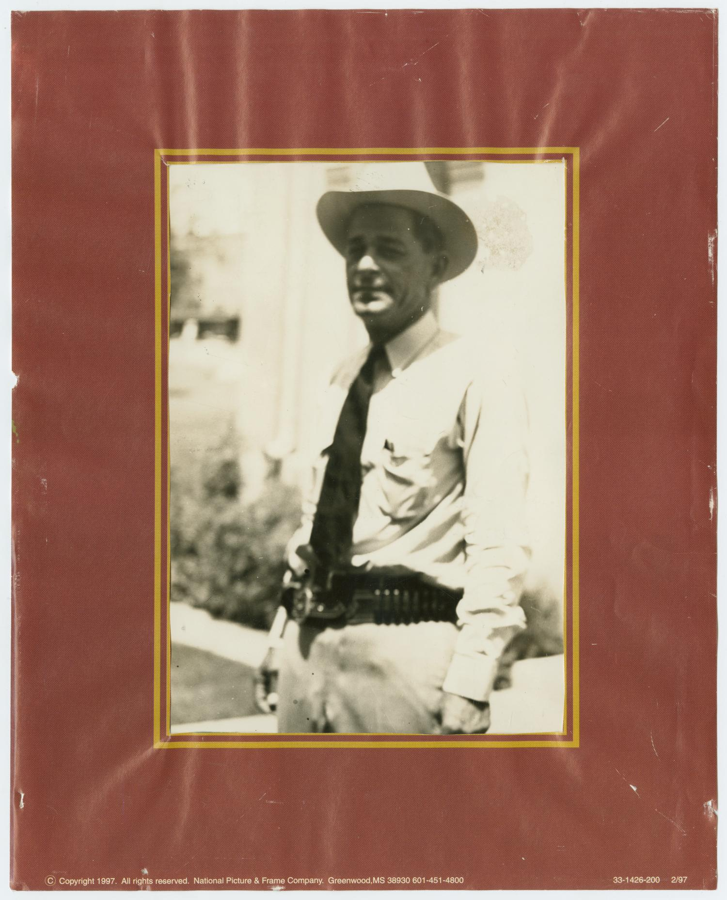 Sheriff George Boothe, 1937-1938                                                                                                      [Sequence #]: 1 of 2