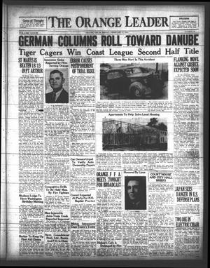 Primary view of The Orange Leader (Orange, Tex.), Vol. 28, No. 42, Ed. 1 Friday, February 21, 1941
