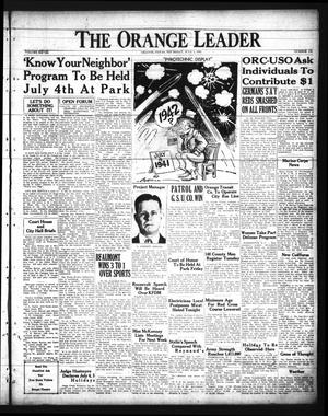 Primary view of The Orange Leader (Orange, Tex.), Vol. 28, No. 155, Ed. 1 Thursday, July 3, 1941