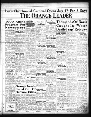 Primary view of The Orange Leader (Orange, Tex.), Vol. 28, No. 156, Ed. 1 Sunday, July 6, 1941