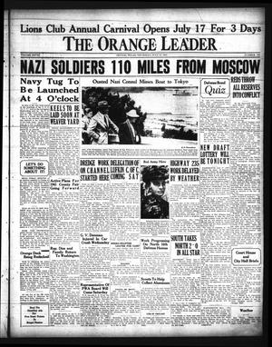 Primary view of object titled 'The Orange Leader (Orange, Tex.), Vol. 28, No. 166, Ed. 1 Thursday, July 17, 1941'.