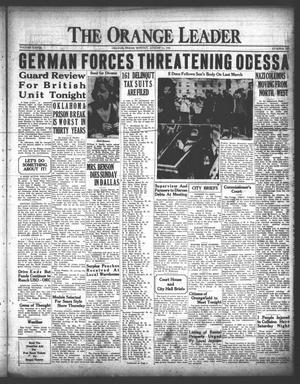 Primary view of The Orange Leader (Orange, Tex.), Vol. 28, No. 187, Ed. 1 Monday, August 11, 1941