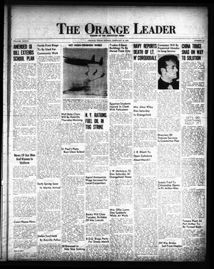Primary view of object titled 'The Orange Leader (Orange, Tex.), Vol. 33, No. 33, Ed. 1 Sunday, February 10, 1946'.