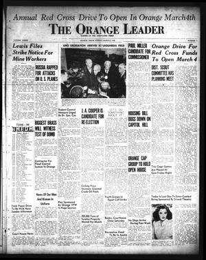 Primary view of object titled 'The Orange Leader (Orange, Tex.), Vol. 33, No. 51, Ed. 1 Sunday, March 3, 1946'.