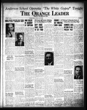 Primary view of object titled 'The Orange Leader (Orange, Tex.), Vol. 33, No. 110, Ed. 1 Friday, May 10, 1946'.