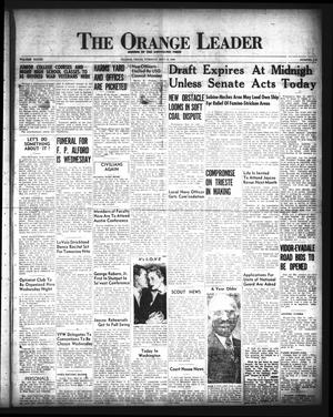 Primary view of object titled 'The Orange Leader (Orange, Tex.), Vol. 33, No. 113, Ed. 1 Tuesday, May 14, 1946'.