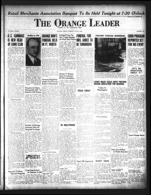 Primary view of object titled 'The Orange Leader (Orange, Tex.), Vol. 33, No. 143, Ed. 1 Tuesday, June 18, 1946'.