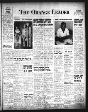 Primary view of object titled 'The Orange Leader (Orange, Tex.), Vol. 33, No. 195, Ed. 1 Sunday, August 18, 1946'.
