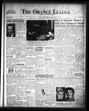 Primary view of object titled 'The Orange Leader (Orange, Tex.), Vol. 34, No. 293, Ed. 1 Sunday, December 14, 1947'.