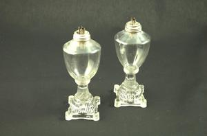 Primary view of object titled 'Oil lamps'.