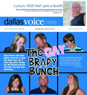 Primary view of object titled 'Dallas Voice (Dallas, Tex.), Vol. 29, No. 11, Ed. 1 Friday, July 27, 2012'.