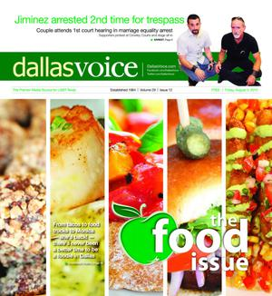 Primary view of object titled 'Dallas Voice (Dallas, Tex.), Vol. 29, No. 12, Ed. 1 Friday, August 3, 2012'.