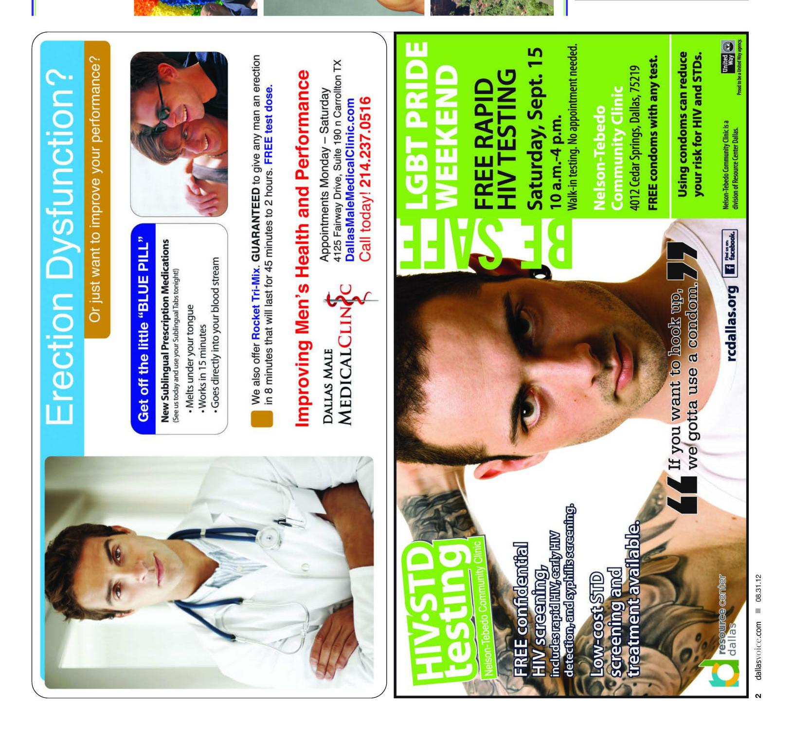 Dallas Voice (Dallas, Tex.), Vol. 29, No. 16, Ed. 1 Friday, August 31, 2012                                                                                                      [Sequence #]: 2 of 48