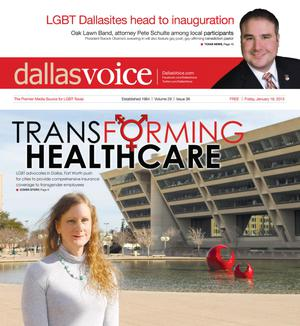 Dallas Voice (Dallas, Tex.), Vol. 29, No. 36, Ed. 1 Friday, January 18, 2013