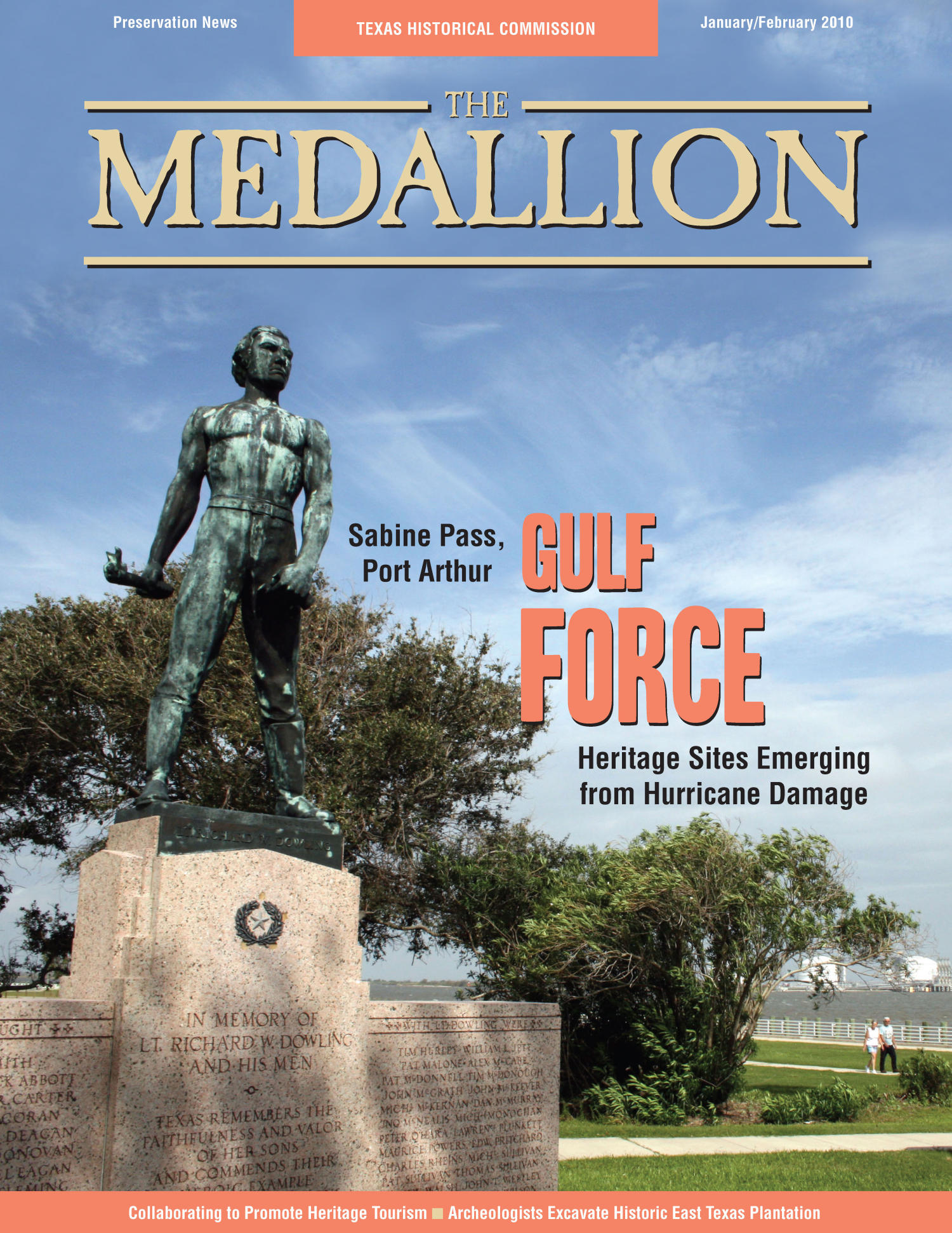 The Medallion, Volume 47, Number 1-2, January/February 2010                                                                                                      Front Cover