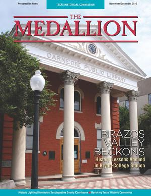 The Medallion, Volume 47, Number 11-12, November/December 2010