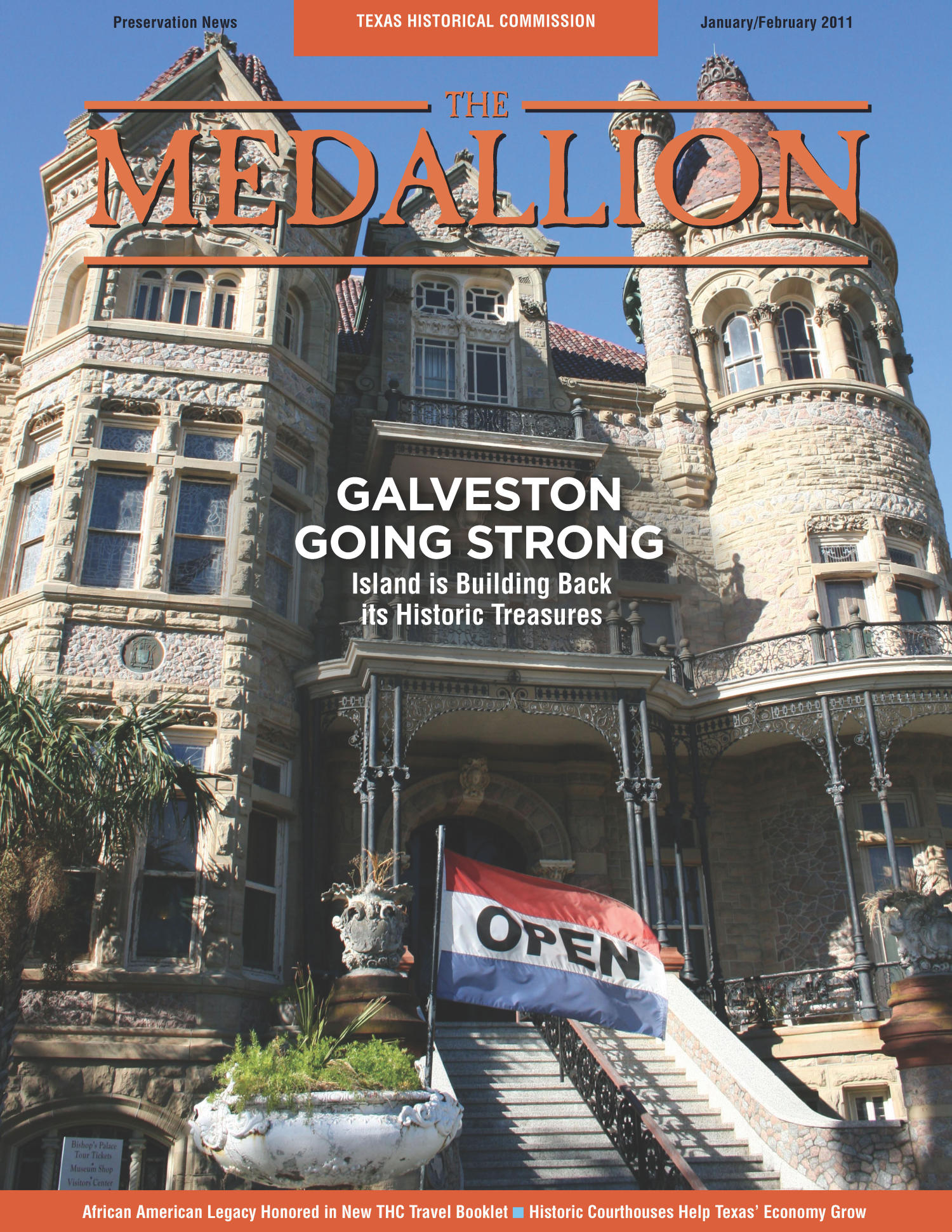 The Medallion, Volume 48, Number 1-2, January/February 2011                                                                                                      Front Cover