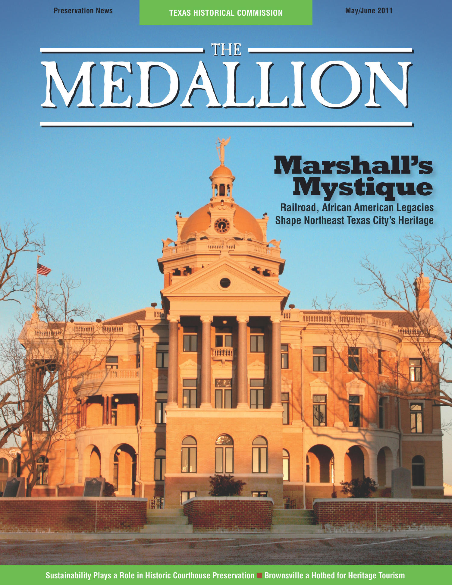 The Medallion, Volume 48, Number 5-6, May/June 2011                                                                                                      Front Cover