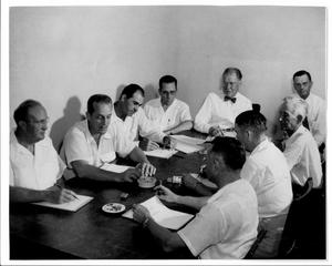 [Photograph of 1952 College Station City Council]