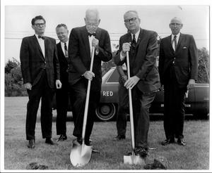 [Photograph of College Station City Hall Groundbreaking Ceremony 4]