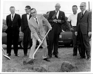 Primary view of object titled '[Photograph of College Station City Hall Groundbreaking Ceremony 6]'.