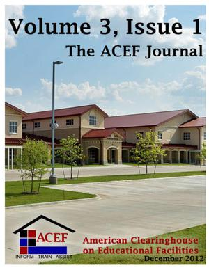 Primary view of object titled 'The ACEF Journal, Volume 3, Issue 1, December 2012'.